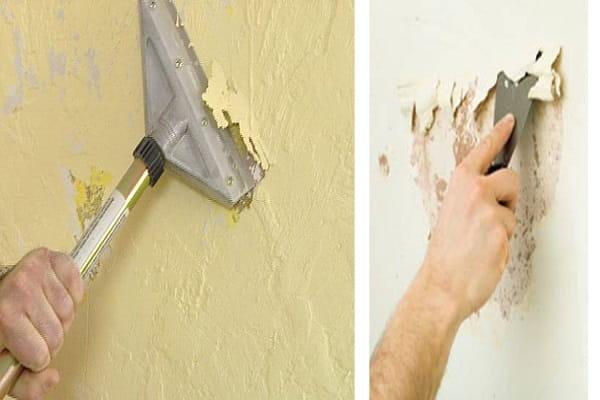 подготовка стен перед жидкими обоями