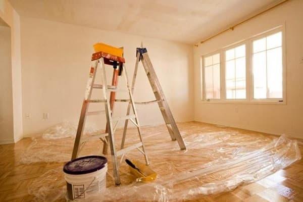 подготовка помещения к окрашиванию фактурной краской