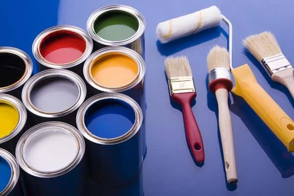 как покрасить железную дверь
