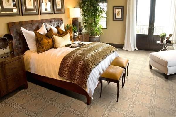 какой выбрать линолеум для небольшой комнаты