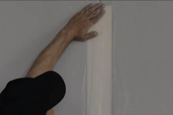 как клеить серпянку своими руками