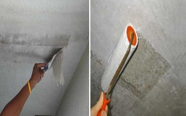 подготовка потолка перед оклеиванием потолочной плитки