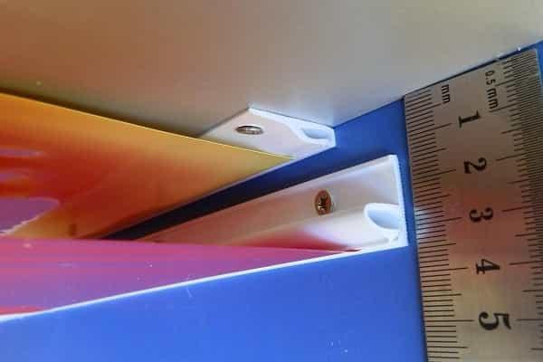как крепить натяжной потолок к гипсокартону кулачковым способом