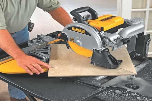 как резать плитку болгаркой без сколов: электрический плиткорез