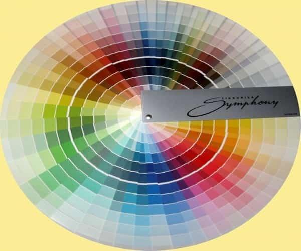 какой краской красить стеклообои: компьютерная колеровка