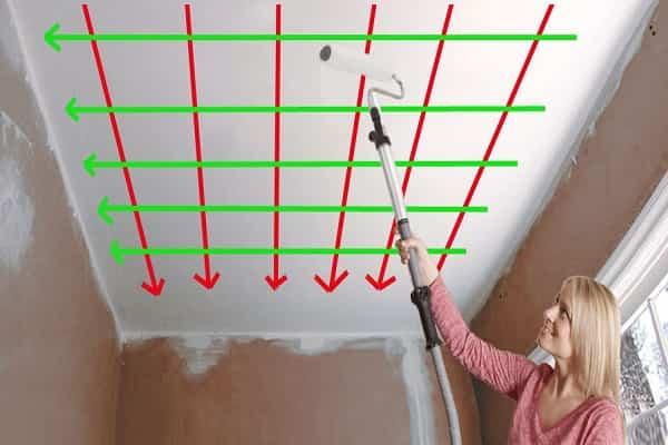 какой краской красить потолок в ванной комнате лучше