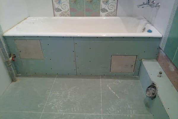 как укладывать плитку на гипсокартон в ванной комнате должным образом