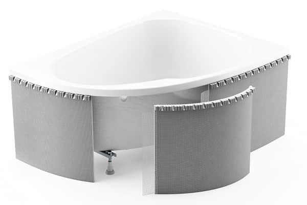 как правильно установить экран под ванну: универсальное изделие