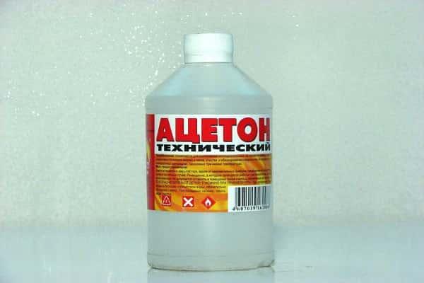 чем снять силикон с плитки: удаление при помощи ацетона