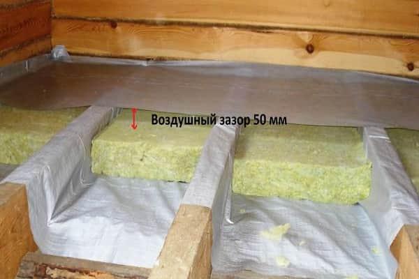 как правильно положить плитку на деревянный пол: укладка утеплителя