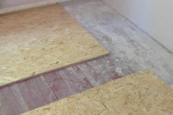 как правильно положить плитку на деревянный пол: укладка OSB
