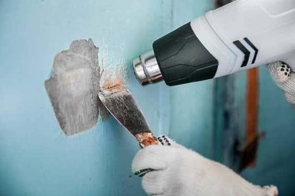 как снять масляную краску со стен разными способами