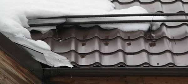 как установить снегозадержатели на металлочерепицу своими руками