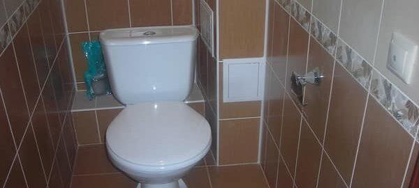 как сделать короб в туалете из гипсокартона