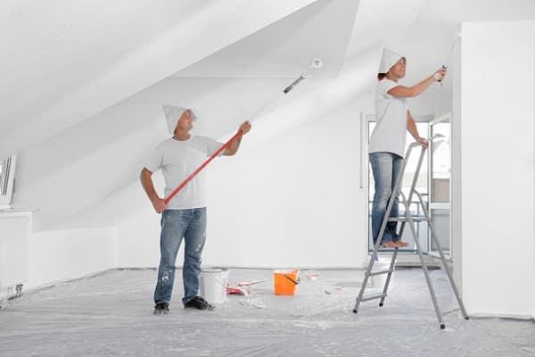 как выбрать валик для покраски потолка должным образом