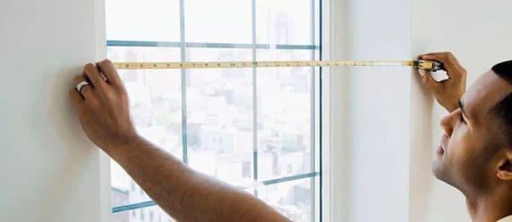 как правильно замерить жалюзи на пластиковые окна собственноручно