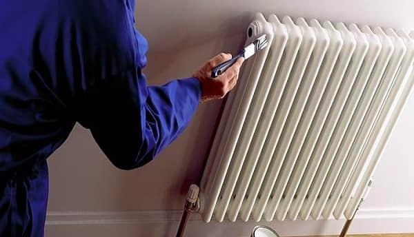 как покрасить чугунную батарею в домашних условиях