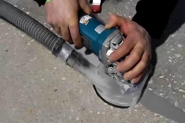 как шлифовать бетонный пол болгаркой самостоятельно