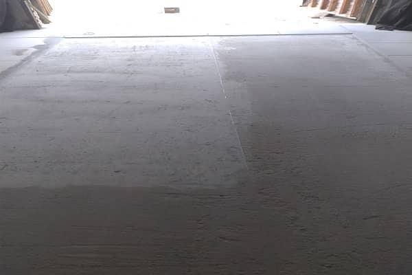 как шлифовать бетонный пол болгаркой в гараже
