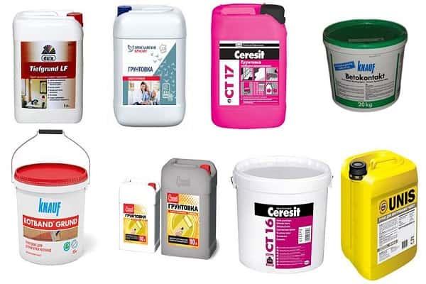 как правильно грунтовать стены перед покраской: виды грунтовок