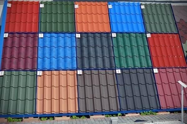 как выбрать металлочерепицу для крыши дома: выбор цвета