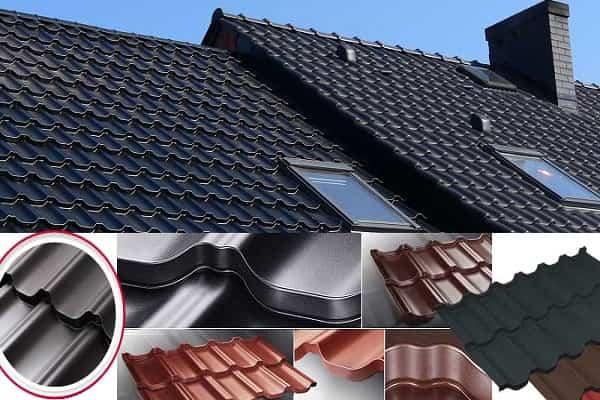 как выбрать металлочерепицу для крыши дома