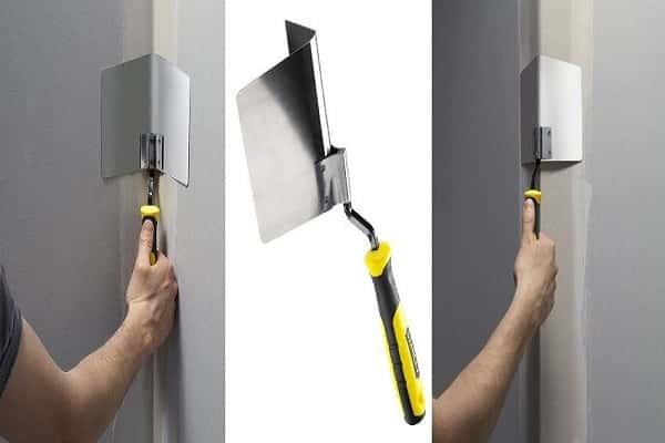 как выровнять угол стены своими руками качественно