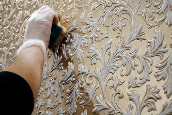 как выбрать обои под покраску на стены: рельефные обои Линкруста