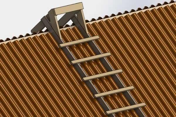 как снять шифер с крыши дома