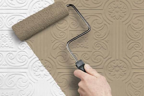 как выбрать краску для обоев под покраску: выбор смеси для флизелиновых полотен