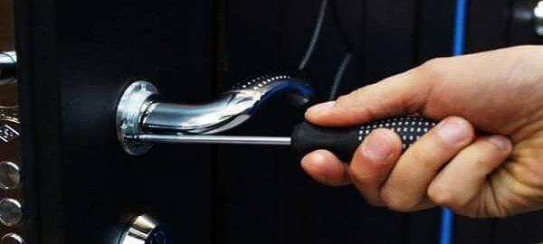как установить дверную ручку на входную дверь