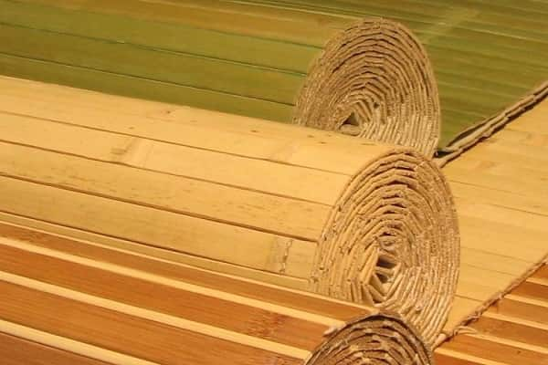 как клеить бамбуковые обои на стену