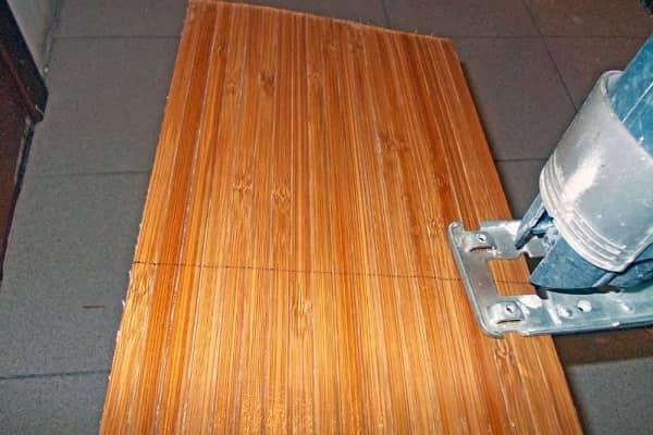 как клеить бамбуковые обои на стену качественно