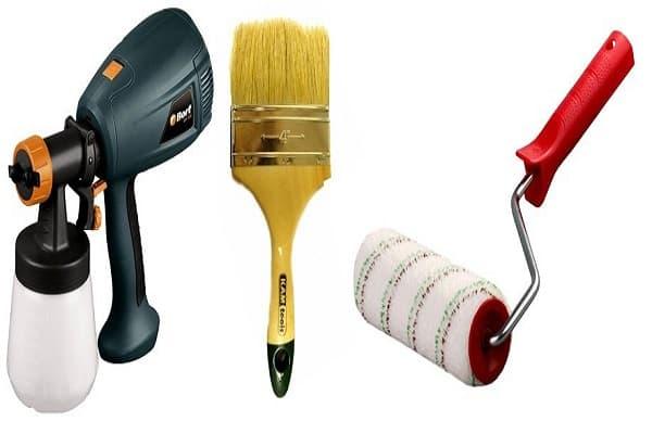 как покрасить стены в ванной своими руками: выбор инструмента