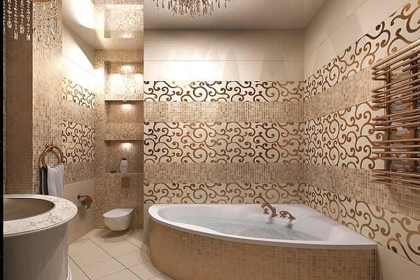 как выбрать плитку для ванной комнаты хорошо