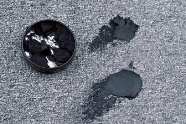 как почистить ковер не снимая с пола от крема для обуви