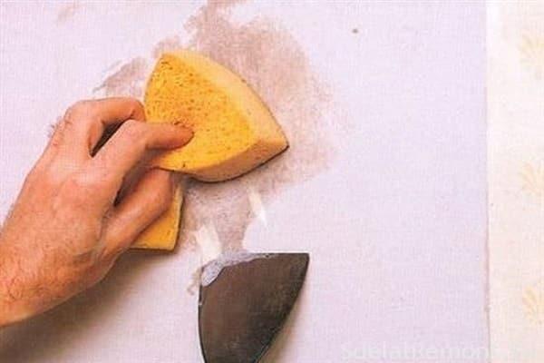 как покрасить стены в ванной своими руками: снятие побелки со стен перед окрашиванием