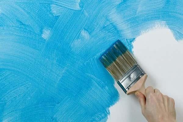 как покрасить стены в ванной своими руками хорошо
