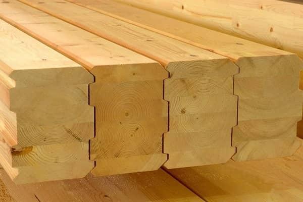 какой брус выбрать для строительства дома: профилированный клееный брус