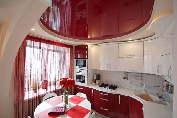 как выбрать цвет натяжного потолка: выбор расцветки полотна для кухни