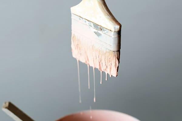 как очистить кисть от краски