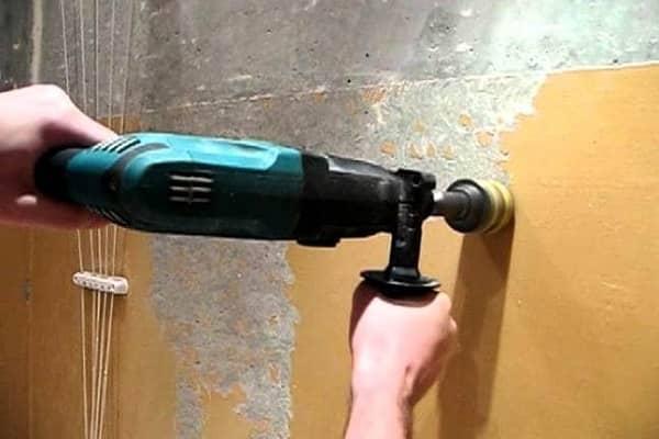 как снять масляную краску с потолка своими руками