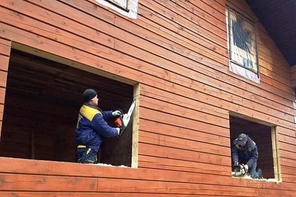 как самому установить пластиковое окно в доме: подготовка оконного проема