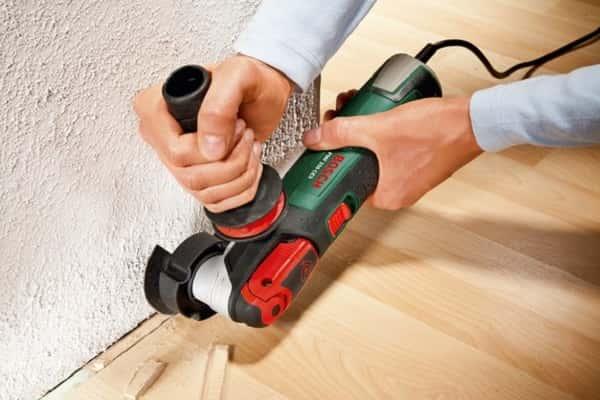 чем резать ламинат в домашних условиях: подрезка уложенного напольного покрытия реноватором