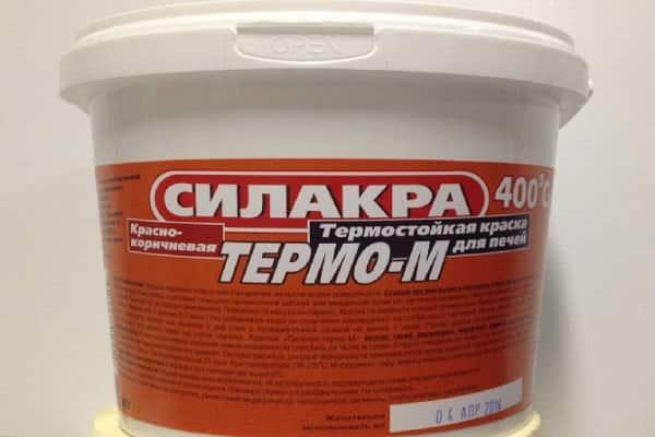 чем покрасить печь из кирпича в доме: термостойкая краска