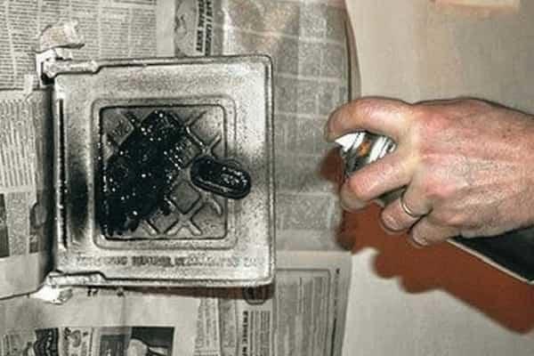 чем покрасить печь из кирпича в доме: огнеупорные краски