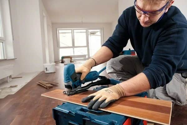 чем резать ламинат в домашних условиях своими руками