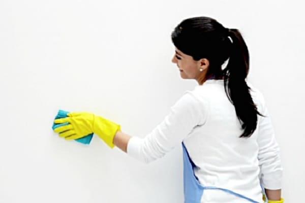 как убрать клей с обоев после высыхания