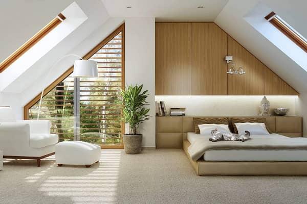чем обшить мансарду изнутри для жилья: гипсокартон и другие отделочные материалы