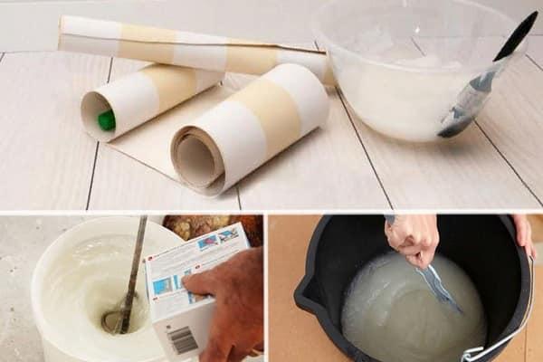 как убрать клей с обоев после высыхания собственноручно